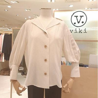 [AK公式ストア]【VIKI】【ヴィッキー]夏のリネンブラウスTMSBAD2481