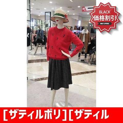 [ザティルボリ][ザティルボリ]Wモール猫自首プルオーバーTIAM1KT55 /ニット/セーター/ニット/韓国ファッション