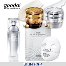 [GOODAL/グドール] プレミアムカタツムリトンオプクリーム/ゴールド/エッセンス/ハイドロゲルマスク/Premium Snail Tone-up Cream/Gold/Essence/Mask
