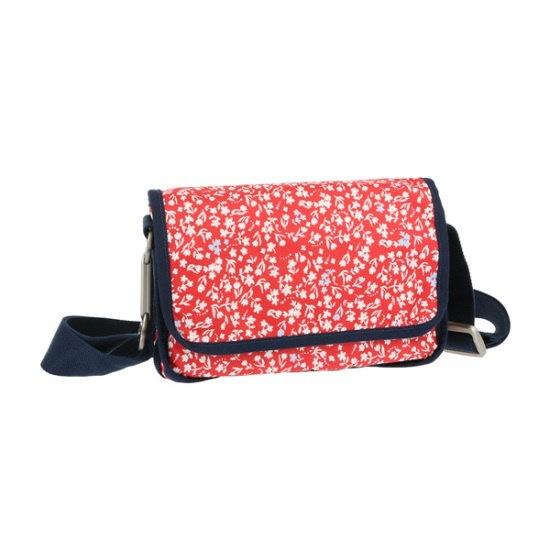 レスポセクWEEKEND CROSSBODY in SAILING FLORAL RED C2 クロスバック / 韓国ファッション