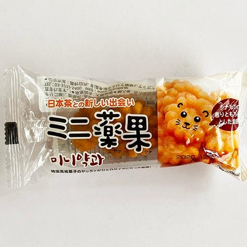 日本茶との新しい出会い ミニ薬菓 ヤッカ 70g 10個入り 韓国 伝統 菓子 もち薬菓 韓国 お菓子 食品 揚げもち