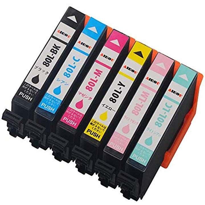 エプソンインクカートリッジ80 epson-ic6cl80 とうもろこし /EP-808AW/EP-977A3/EP-979A3