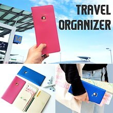 [SWEET MANGO] JAM STUDIO Du-Dum Travel Organizer - パスポートケース パスポートカバー 旅行用品トラベルポーチ パスケース