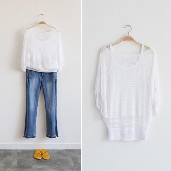 レイショップ行き来するようにココジェンリリーニートリップライン香織ニットセット ニット/セーター/ニット/韓国ファッション