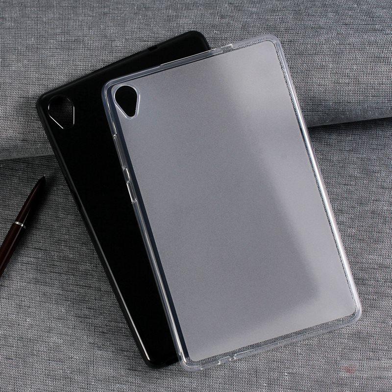 Lenovo Tab M7/Tab M8(FHD)用LAVIE Tab E TE507/TE508/TE708/KAS用クリアソフト保護ケース透明シリコンカバークリア滑り止め柔軟TPU保護カバー