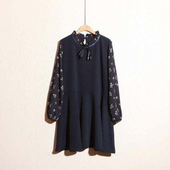 スタイルパンパンアモーレワンピース 大きいサイズ/ワンピース/韓国ファッション