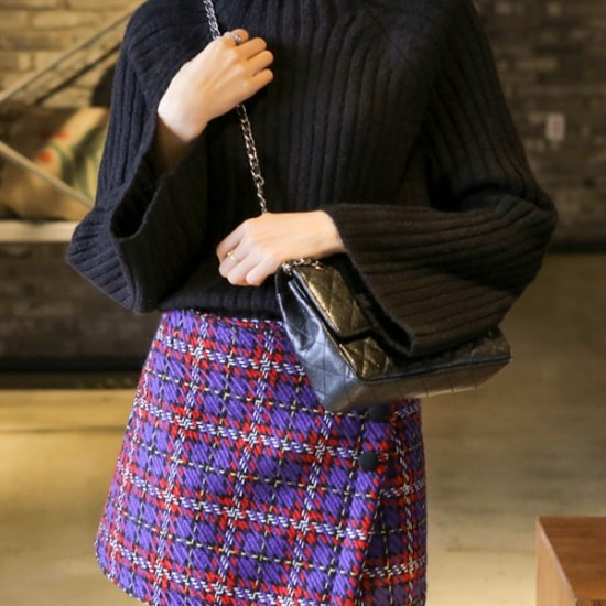 ウィドゥイプンシャベトゥバンポルラ・ニット ニット/セーター/タートルネック/ポーラーニット/韓国ファッション