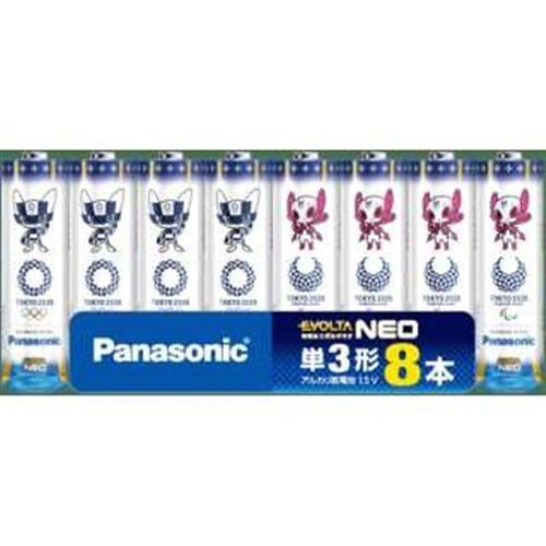 エボルタNEO アルカリ乾電池 単3形 8本パック LR6NJTP2/8S