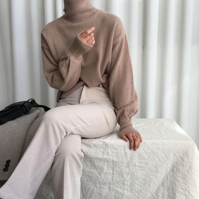 [ラルム】ロンドンウールポーラ2col korea fashion style