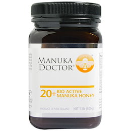 マヌカドクター バイオ アクティブ 20+ マヌカハニー 500g Manuka Doctor