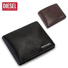 ディーゼル Diesel 財布 メンズ 二つ折り財布 レザー 小銭入れ 本革 HIRESH S X03925 PR271 ウォレット サイフ 人気 プレゼント 誕生日 ギフト