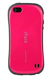 8d63d0074a iFace First Class Standard iPhone SE / 5s/ 5 ケース 耐衝撃 / ホットピンク