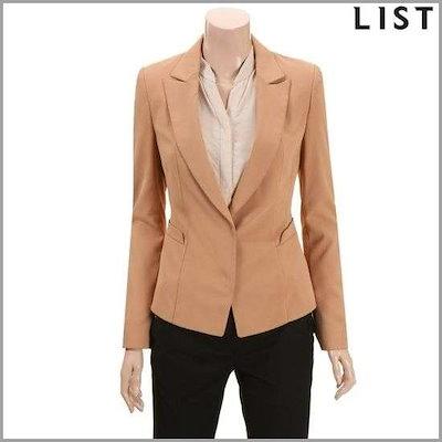 [リスト(LIST)]切開ディテールテーラードショートジャケットTWJKD50020BEG3H4 /テーラードジャケット/ 韓国ファッション