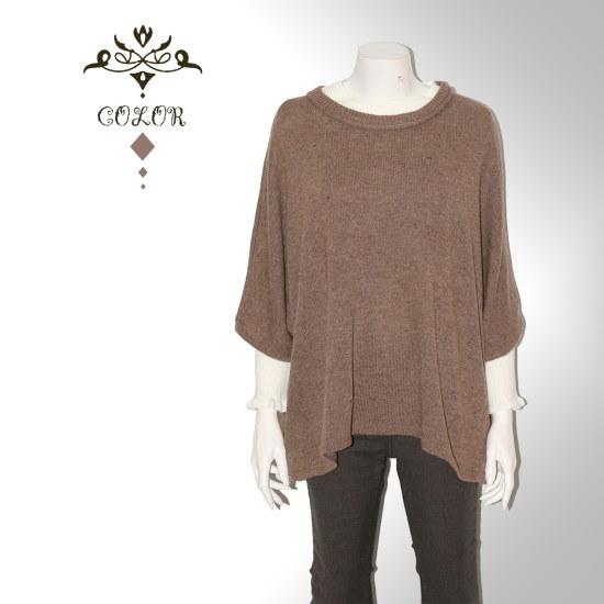永嗣も、ル・ニットマントA7FR151 ニット/セーター/韓国ファッション