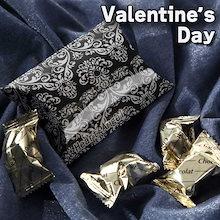 早割 バレンタイン 義理チョコ 会社 バレンタインチョコ カッコいいオーナメントボックス チョコレートはとても口どけの良いチョコレート プレゼント チョコ 2019 チョコレート 人気 ギフト