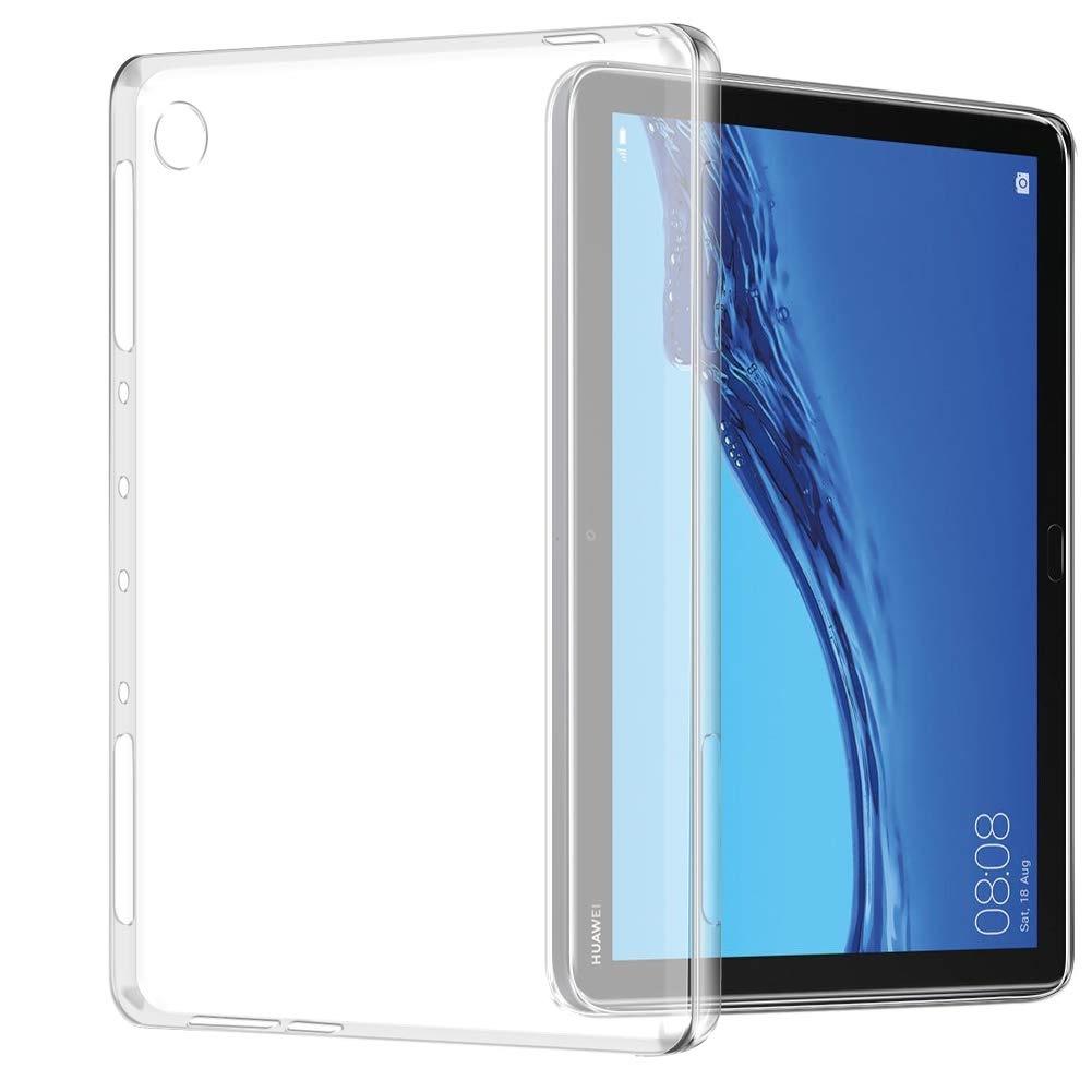 Dtab Compact d-02K/MediaPad Huawei 10.1インチ/M5 Lite 10/T5 10/M5 Lite 8.0 機種選択 TPU ケース クリアバックカバー