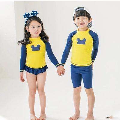 c979ca612d1a8  送料無料 韓国ファッション ミッキー水着 disney キッズ子供 男の子 ベビー 水着 男児 キッズ