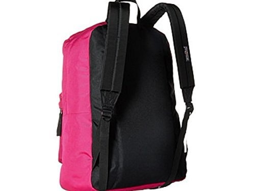 Jansport Trans Supermax Backpack Cyber Pink-  polo