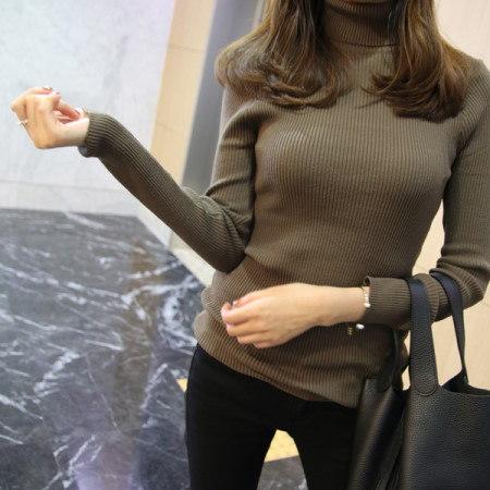 [Dimming] Golgi Neck Pola Knit Department Store Quality ~ !! Turtleneck turtleneck turtleneck