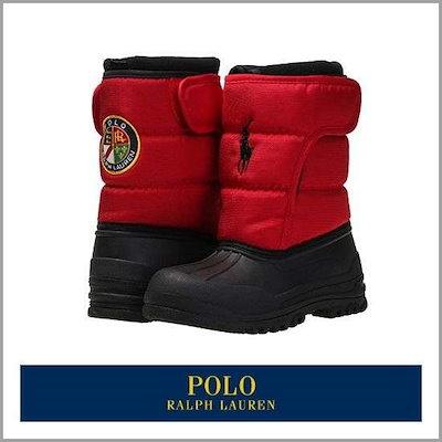[ポロ(スポーツシューズ)]ポロ(POLO)HAMILTEN II EZ RED/BLACK(kids) /ブーツ/ウォーカー/アンクルブーツ/ブーツ/韓国ファッション