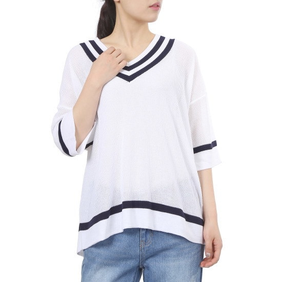 ラブLAPVダンカラニートAH2KH641 ニット/セーター/韓国ファッション