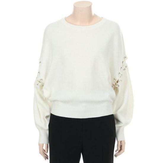 ジューシージュディ小売アイレット装飾ニットプルオーバーJRKT720A ニット/セーター/韓国ファッション