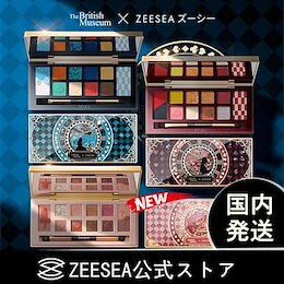 国内発送「ZEESEA公式ストア」アリスシリーズ 12色アイシャドウパレット アイメイク メイクアップ 上品 中国メイク