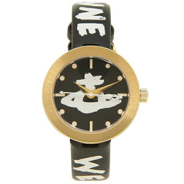 ヴィヴィアンウエストウッド 時計 VIVIENNE WESTWOOD VV221GDBKSTD サウスバンク 29MM クォーツ レディース腕時計ウォッチ ブラック/ゴールド