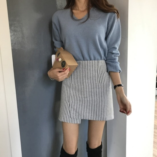 メリエッソウルブイニート2color ニット/セーター/ニット/韓国ファッション