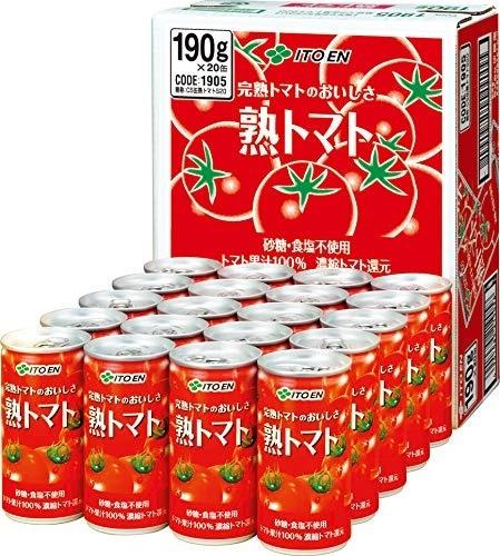 熟トマト 190g ×20本 製品画像