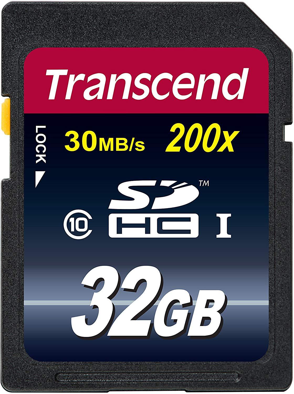 【正規国内販売代理店・ネコポス便送料無料】トランセンド[Transcend] 32GB SDHCカードTS32GSDHC10 [32GB] Class10(読み出し最大30MB/秒)