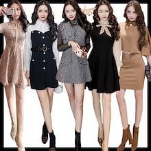❤♥01/16新作追加 ワンピース♥韓国ファッション♥春夏の新品♥韓国ファッション♥ドレス♥ふんわりスカート♥洋服♥つりスカート♥セクシーなワンピース♥レースのワンピース♥不規則なワンピース♥❤