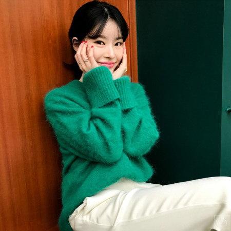 【Imvely]甘酸っぱくアンゴラニットkorean fashion style