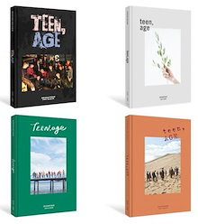 Seventeen - 2nd Official CD Album TEEN AGE (White Version)