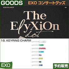 18. KEYRING CHARM / EXO THE PLANET#4 OFFICIAL GOODS  / 1807exo /2次予約/送料無料
