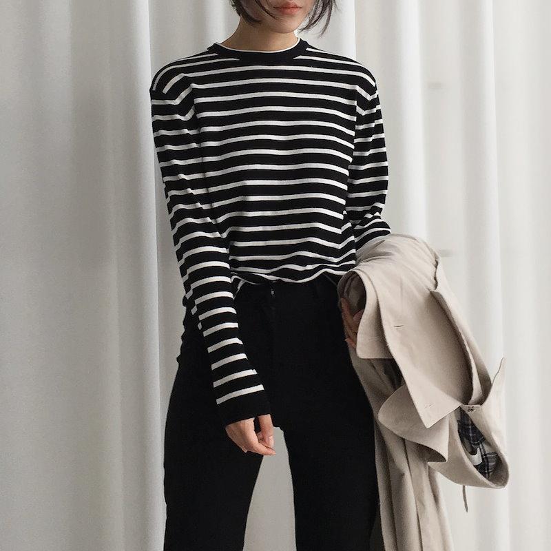 モアstニット3col korea fashion style
