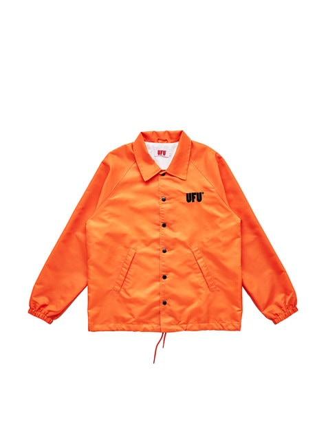 USED FUTURE UFU Ad Coach Jacket - Orange
