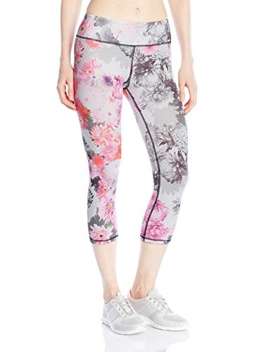 Betsey Johnson Womens Dreamy Dahlias Printed Ankle Leggings, Dreamy Dahlia Multi Combo, Large