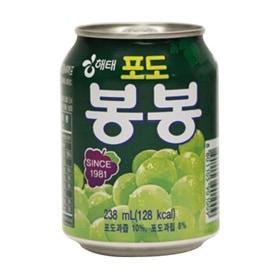 『ヘテ』 ぶどうボンボン | 青ぶどうジュース (238ml×1個) 果実ジュース 韓国飲料 韓国ドリンク 韓国飲み物 韓国食品