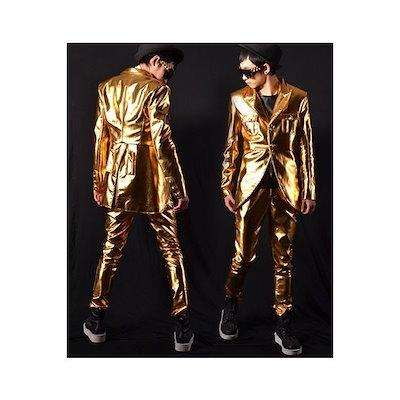 b系 メンズ ダンス衣装 コート,ズボン ファッション スタジャン 細身 男性用 演出服 練習着