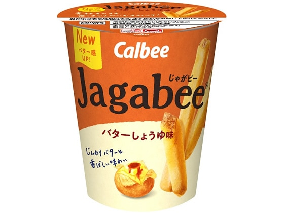 Jagabeeバターしょうゆ味 40g カルビー