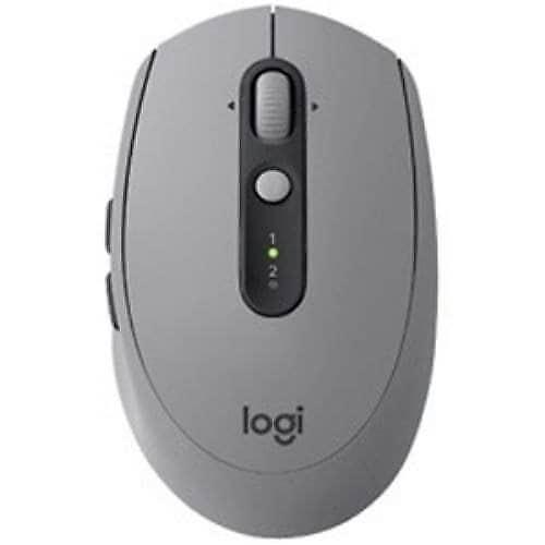 ロジクール(Logicool) M590MG (7ボタン・ミッドグレイトーナル) ワイヤレスレーザーマウス Bluetooth/2.4GHz USB MULTI-DEVICE サイレントマウス