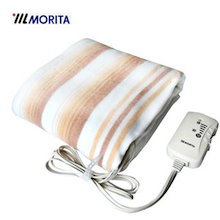 MB-S14KS モリタ MORITA 電気毛布(電気しき毛布・電気敷き毛布・電気敷毛布) 洗濯OK(洗える毛布)・ダニ退治機能