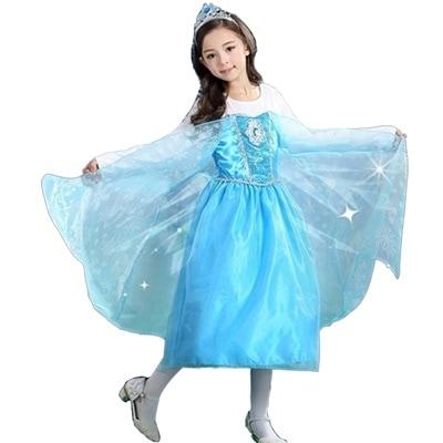 7182d1650d246  Qoo10  エルサ風ドレス アナと雪の女王 仮装   ホビー・コスプレ