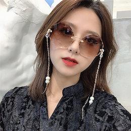 🌸独特なシルエットに魅了される。▶▶韓国ファッション おしゃれな 大人気 オシャレ 早い者勝ち レトロ UVカット INSスタイル 原宿BF风 個性 サングラス
