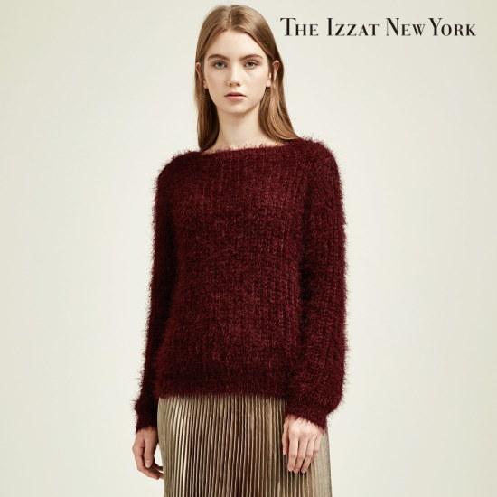 ザアイジャッ女性ザアイジャッボトゥネクブクルフェミニンニットIHCP1KT04 ニット/セーター/ニット/韓国ファッション