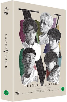 送料無料DVD SHINEE WORLD IN SEOUL V シャイニーの5番コンサート+ポストカードブック+フォトカード韓国音楽チャートCode ALL日本語字幕つきKPOP