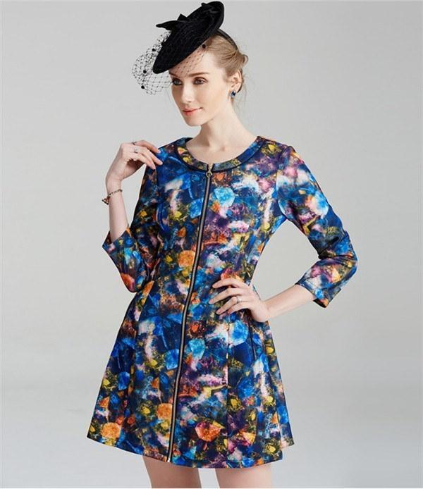 コートレディース トレンチコート ロングコート 薄手 カラフル ファッション 着心地よい 春新作 通勤 きれいめ春コート レディースコート