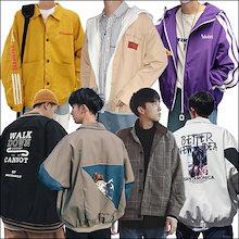 秋冬 メンズファッション アウター コート ジャケット 韓国ファッション oversize パーカー