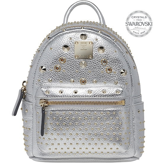 ★【MCM 正規品】★15SS STARK SPECIAL BACKPACK★MMK5SVE75SV★【EMS無料発送】★